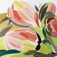 Servietten 33x33 cm - Tulip Fantasy