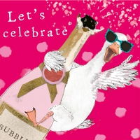 Servietten 33x33 cm - Let´s celebrate
