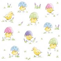 Servietten 33x33 cm - Easter Chick Napkin 33x33
