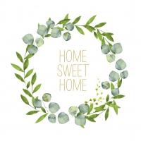 Servietten 33x33 cm - Home Sweet Home