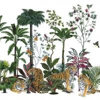 Servietten 33x33 cm - Tiger Summer
