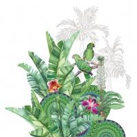 Servietten 33x33 cm - Tropicale