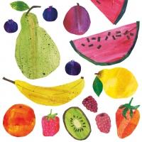 Servietten 33x33 cm - Tutti Frutti