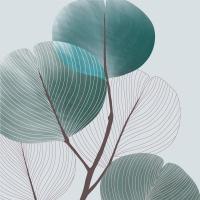 Servietten 33x33 cm - Autumn Breeze