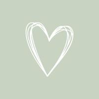 Servietten 33x33 cm - Pure Heart green