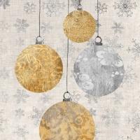Cocktail Servietten Holiday Ornaments