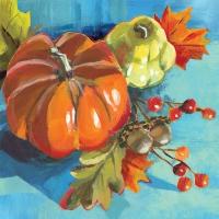 Servietten 25x25 cm - Pumpkin Musée
