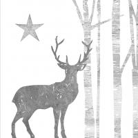 Servietten 25x25 cm - Mystic Deer