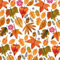 Servietten 25x25 cm - Autumn Leaves
