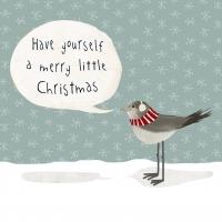 Servietten 25x25 cm - Merry Little Christmas
