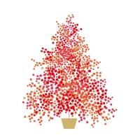 Servietten 25x25 cm - Season´s Tree