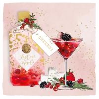 Servietten 25x25 cm - Christmas Cheers