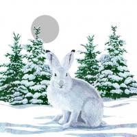 Lunch Servietten Snow Rabbit