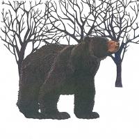Lunch Servietten Winter Bear