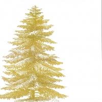 Servietten 33x33 cm - Gravierter Baum