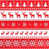 Servietten 33x33 cm - Magic Christmas