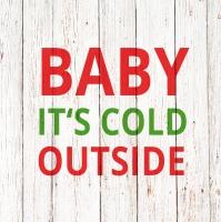 Servietten 33x33 cm - Chalet Deco Baby