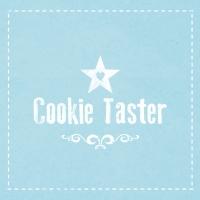 Servietten 33x33 cm - Cookie Taster blue