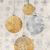 Lunch Servietten Holiday Ornaments