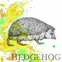 Lunch Servietten Autumn Hedgehog