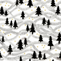 Servietten 33x33 cm - Winter Fantasy
