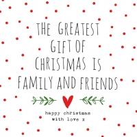 Servietten 33x33 cm - Gifts of Christmas