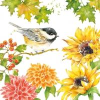 Servietten 33x33 cm - Autumn Song