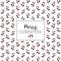 Servietten 33x33 cm - Christmas One