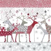 Servietten 33x33 cm - Scandic Christmas