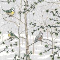 Servietten 33x33 cm - Snow Paradise