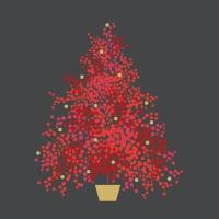 Servietten 33x33 cm - Seasons Tree grey Napkin 33x33