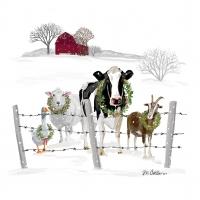 Servietten 33x33 cm - Holiday Farm Friends
