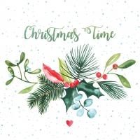 Servietten 33x33 cm - Christmas Time Napkin 33x33
