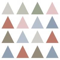 Servietten 33x33 cm - Pure Triangles Napkin 33x33