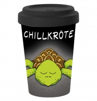 Bamboo mug To-Go - Chillkröte