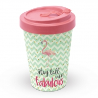 Bamboo mug To-Go - Be Fabulous