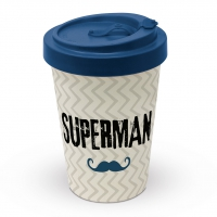 Bambusbecher To-Go - Supermann