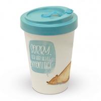 Bamboo mug To-Go - Ich Hab Montag