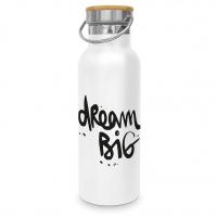 Edelstahl Trinkflasche - Dream Big