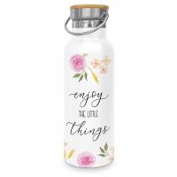 Edelstahl Trinkflasche - Enjoy Little Things