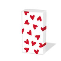 Taschentücher - Heartbreaker white