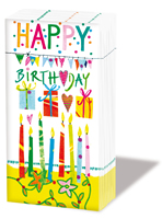 Taschentücher - Herzlichen Glückwunsch zum Geburtstag