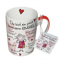 Porzellan-Tasse - Besonderer Engel