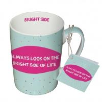 Porzellan-Tasse - Helle Seite des Lebens