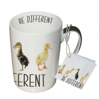 Porzellan-Tasse - Seien Sie anders