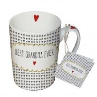Porzellan-Tasse - Beste Oma