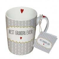 Porzellan-Tasse - Bester Opa