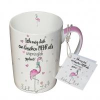 Porzellan-Tasse - Ein Bisschen Mehr