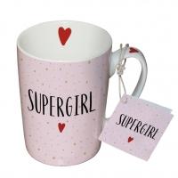 Porzellan-Tasse -  Supergirl