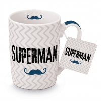 Porzellan-Tasse -  Superman